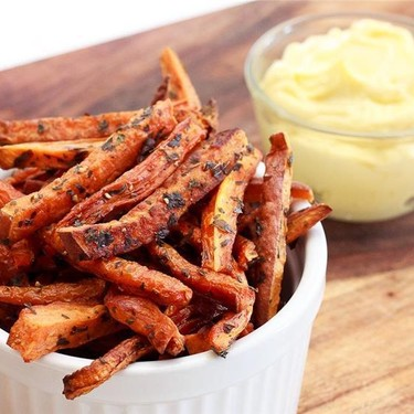 Baked Carrot and Sweet Potato Fries Recipe   SideChef