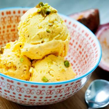 Passion Fruit Mango Frozen Yogurt Ice Cream Recipe   SideChef