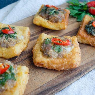 Thai Pork Toast Recipe   SideChef