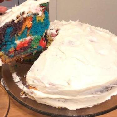 Easy Rainbow Cake Recipe   SideChef