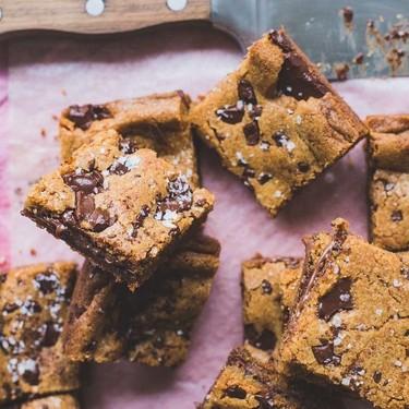 Brown Butter Nutella Filled Blondies Recipe | SideChef