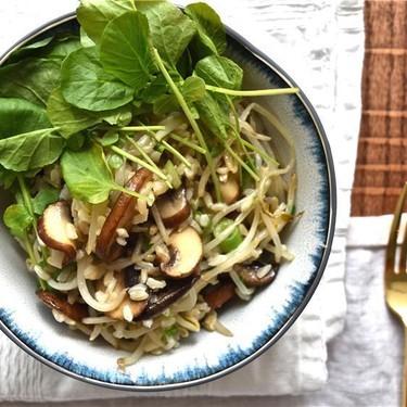 Mushroom Rice Bowl Recipe   SideChef