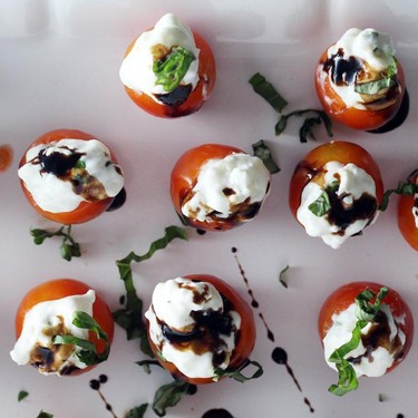 Tomato Basil Caprese Bites Recipe   SideChef