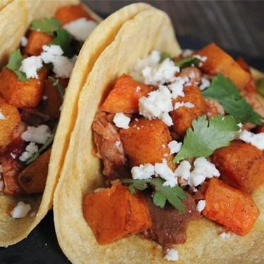 Chipotle Pork Tenderloin & Butternut Squash Tacos Recipe | SideChef