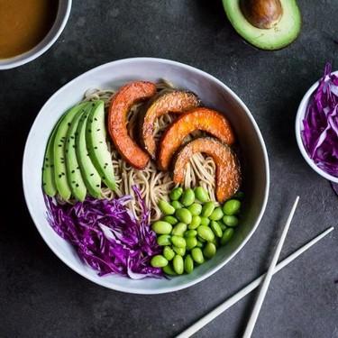 Miso Roasted Kabocha Soba Bowls Recipe | SideChef
