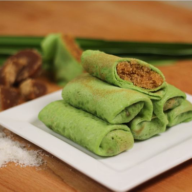 Kueh Dadar (Stuffed Coconut Crepes) Recipe   SideChef