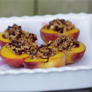 Baked Peaches Recipe   SideChef