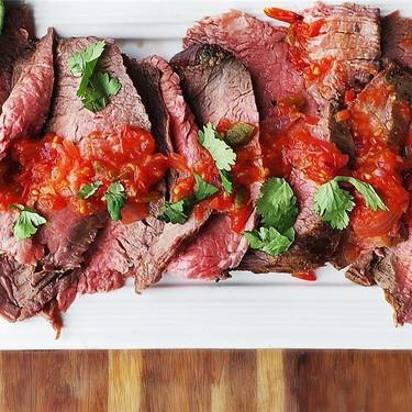 Grilled Carne Asada with Smoky Salsa Recipe   SideChef
