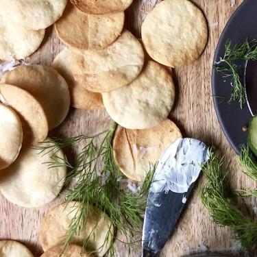 Parmigiano-Reggiano Einkorn Cheese Crackers Recipe   SideChef