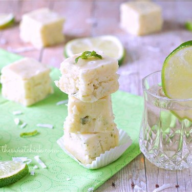 Tequila Lime Coconut Fudge Recipe | SideChef