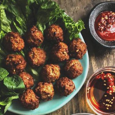 Lemongrass Pork Meatballs (Larb Style) Recipe   SideChef