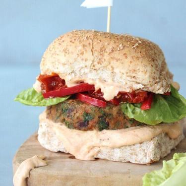 Ultimate Chickpea Kale Bean Burgers Recipe | SideChef