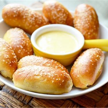 Mini Sausage Stuffed Pretzel Bites Recipe   SideChef