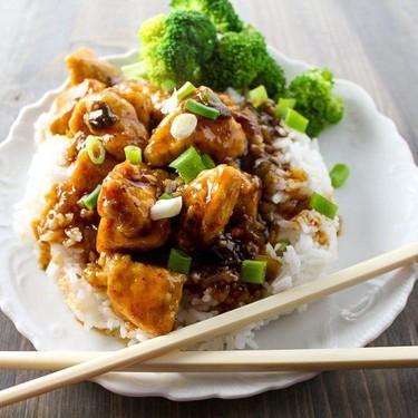 Asian Sticky Chicken Recipe   SideChef