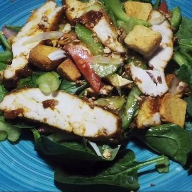 Asian American BBQ Chicken Salad Recipe | SideChef