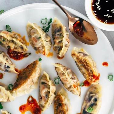 Pan Fried Crispy Vegetable Tofu Dumplings Recipe   SideChef