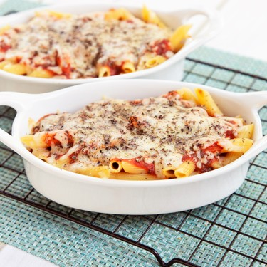 Double Layer Pasta Bake Recipe   SideChef
