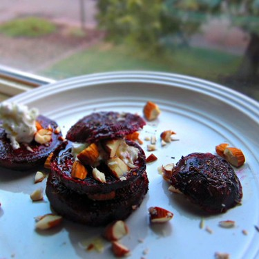 Roasted Beets with Herbed Goat Cheese Recipe   SideChef