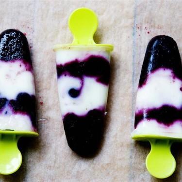Blueberry and Yogurt Popsicles Recipe | SideChef