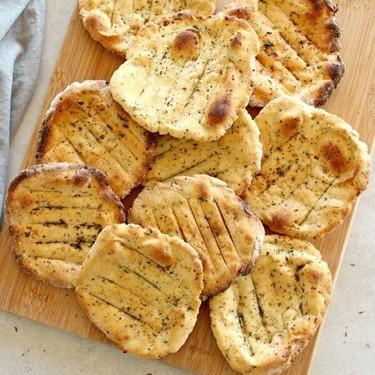 Easy Crunchy Mustard Herb Flatbreads Recipe   SideChef