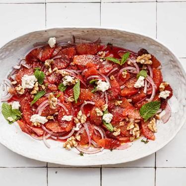 Blood Orange Salad with Red Onion & Mint Recipe | SideChef