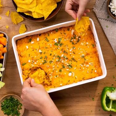 Cheesy Buffalo Corn Dip Recipe   SideChef