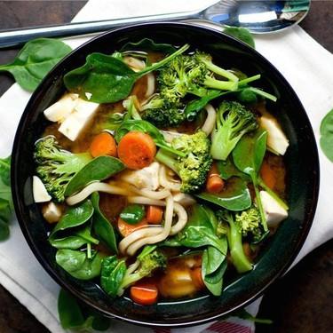 Veggie Miso Udon Soup Recipe   SideChef