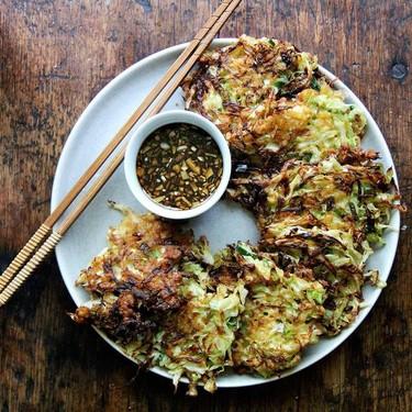Okonomiyaki Cabbage Pancake Recipe | SideChef