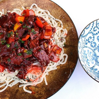 Szechuan Beef Noodles Recipe   SideChef