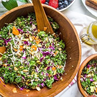 Crunchy Kale and Quinoa Salad Recipe | SideChef