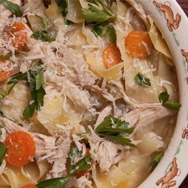 Italian Chicken Noodle Soup Recipe | SideChef