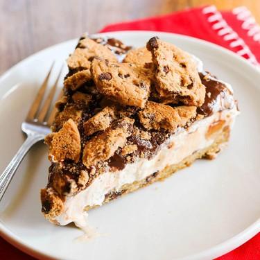 Chocolate Chip Cookie Dough Ice Cream Cake Recipe | SideChef