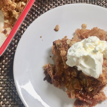 Some Old Lady's Apple Crisp Recipe | SideChef