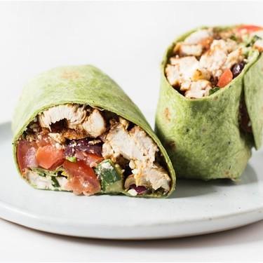 Mediterranean Chicken Wrap Recipe | SideChef