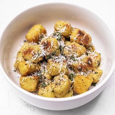 Cauliflower Gnocchi with Thyme Butter Sauce Recipe   SideChef
