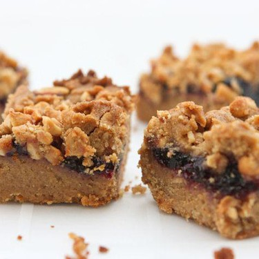 Peanut Butter and Jelly Bars Recipe | SideChef
