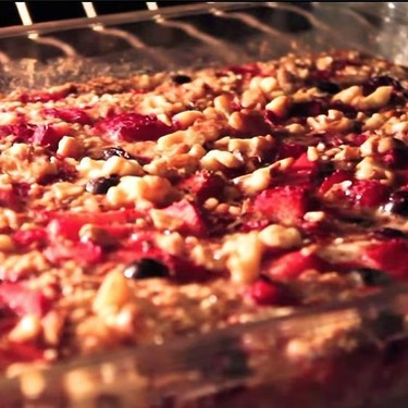 Berry Baked Quinoa and Oatmeal Recipe   SideChef