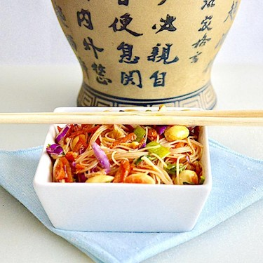 Crunchy Thai-Style Noodle Salad Recipe | SideChef