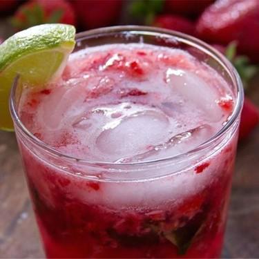 Strawberry Basil Gin Cocktail Recipe | SideChef
