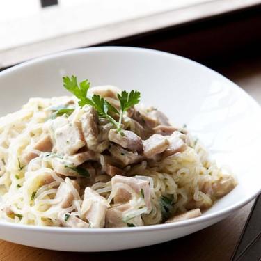 Ham Carbonara with Konjac Noodles Recipe   SideChef