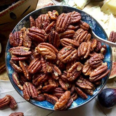 Sweet and Savory Roasted Pecans Recipe | SideChef