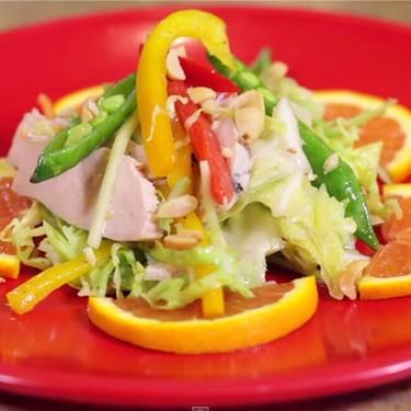 Asian Chicken Veggie Salad Recipe | SideChef