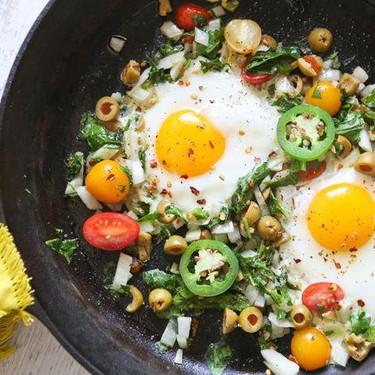 Easy Eggs and Veggies Recipe | SideChef