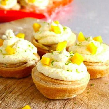 Easy Mango and Lime Tarts Recipe   SideChef