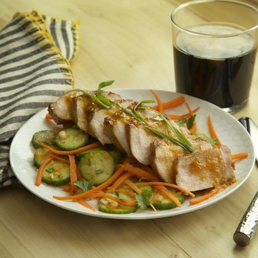 Asian Marinated Pork Chops Recipe | SideChef