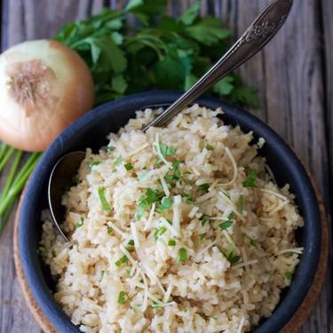 Parmesan Rice Pilaf Recipe | SideChef