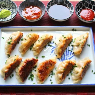 Homemade Gyoza Potstickers Recipe | SideChef