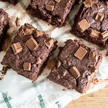 Gooey Black Bean Beet Brownies Recipe | SideChef