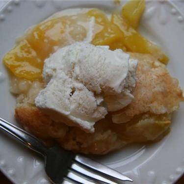 Peach Cobbler Recipe | SideChef