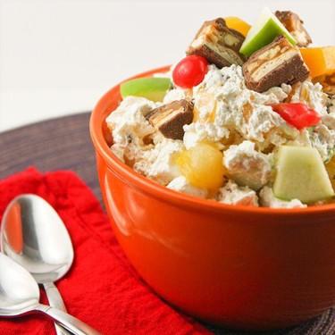 Candy Bar Fruit Salad Recipe   SideChef